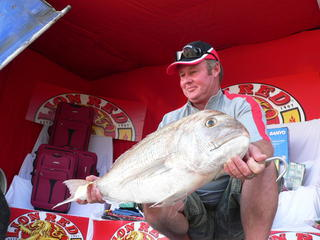 Vaughan Craven 2008 Champion with Winning Snapper